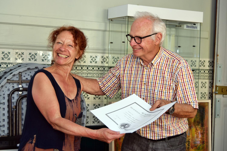 2018 Remise de mon diplôme par Monsieur Sénéca