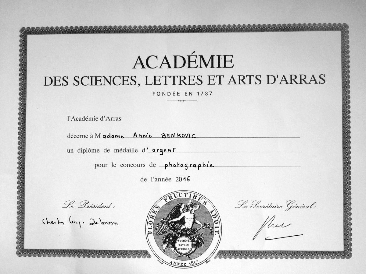 Diplôme Concours Académie d'Arras 2016